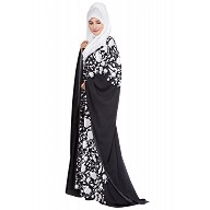Islamic Dress- Kaftan with floral motifs