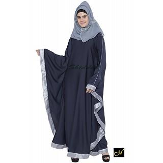 Kaftan Abaya - Navy Blue
