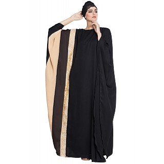 Premium multi-colored Kaftan abaya