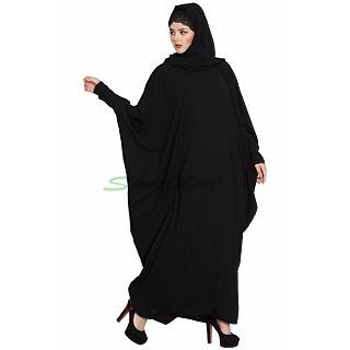 Free size kaftan abaya- Black