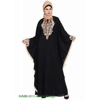 Embroidered Kaftan abaya