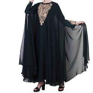 Premium designer abaya with Embroidery work