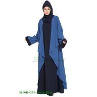 Designer Shrug abaya combo