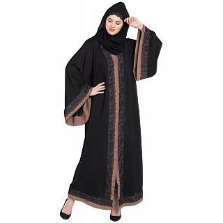 Dubai kaftan- Front open abaya