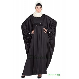 Party wear Kaftan abaya- Black