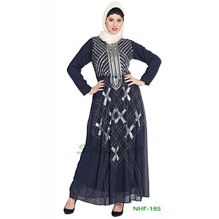 Designer party wear Embellished abaya