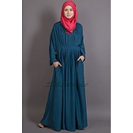 Chic abaya- Peated casual wear