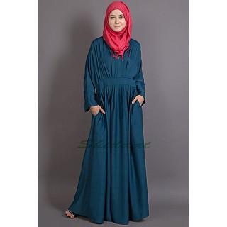 Chic abaya- Peated casual wear