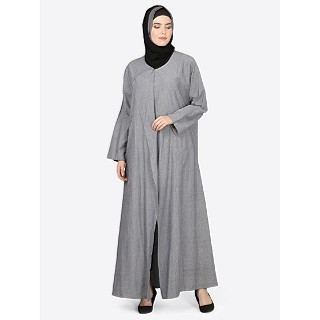 Denim executive coat Abaya