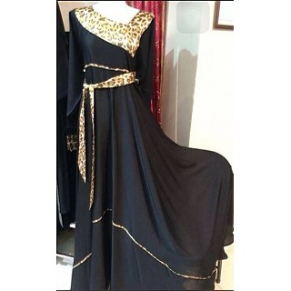 Abaya- Anarkali with dori worked