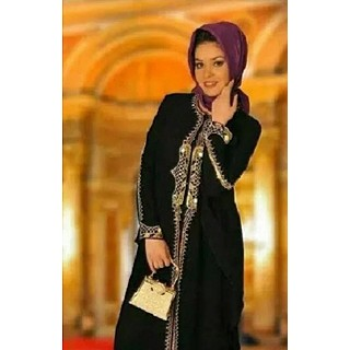 Abaya - Black pearl from Dubai