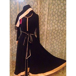 Burqa- Dori worked anarkali