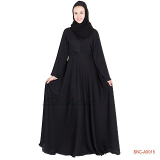 Abaya- Full flared umbrella cut