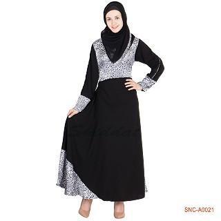 Anarkali abaya- Frock style