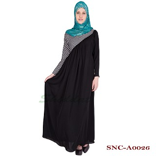 Party wear designer abaya- Nidha Fabric