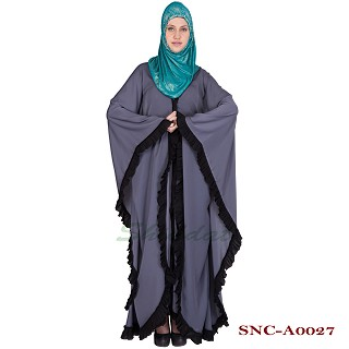 Classic Front Open Kaftan- Nida fabric