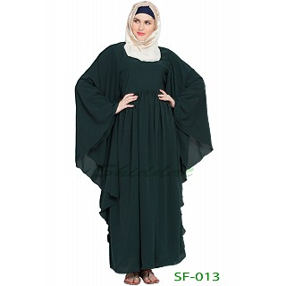 Arabian kaftan abaya- Dark Green