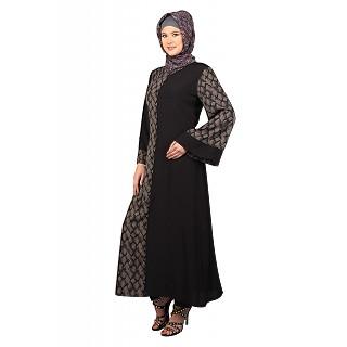 Zohra Flairy Sleeves Abaya