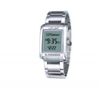Digital square Azan Watch for Men