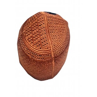 Owise Cap in Brown color