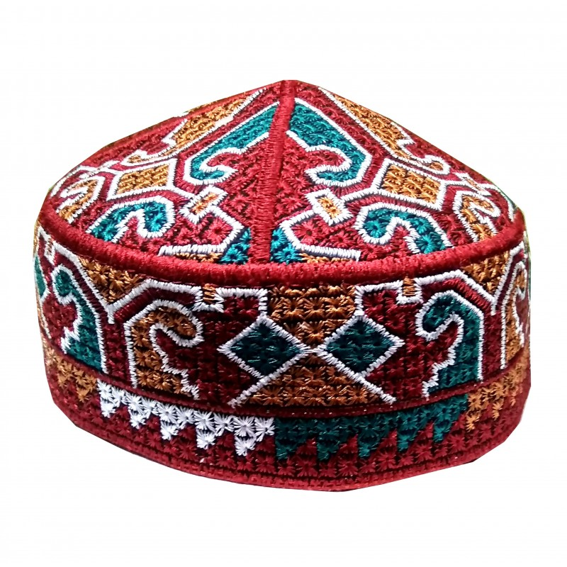 Muslim Prayer Cap- Printed Islamic Prayer hat online in India e164f04500