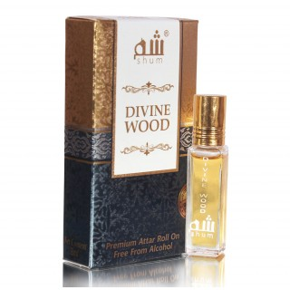 Divine Wood- Attar Perfume  (8 ml)