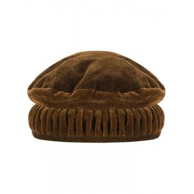 23fc4d7d Afghani Pakol Hat- Designer Afghan Hat Brown colored Pakol