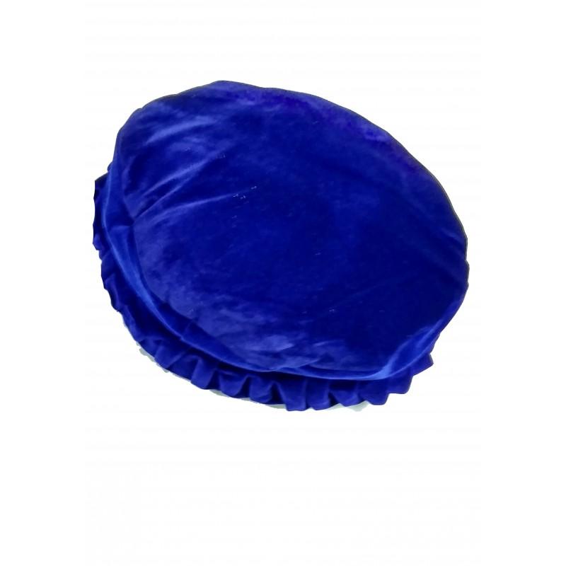Afghani Pakol Hat online- Designer Afghan Hat Blue colored Pakol c042a80cafbc