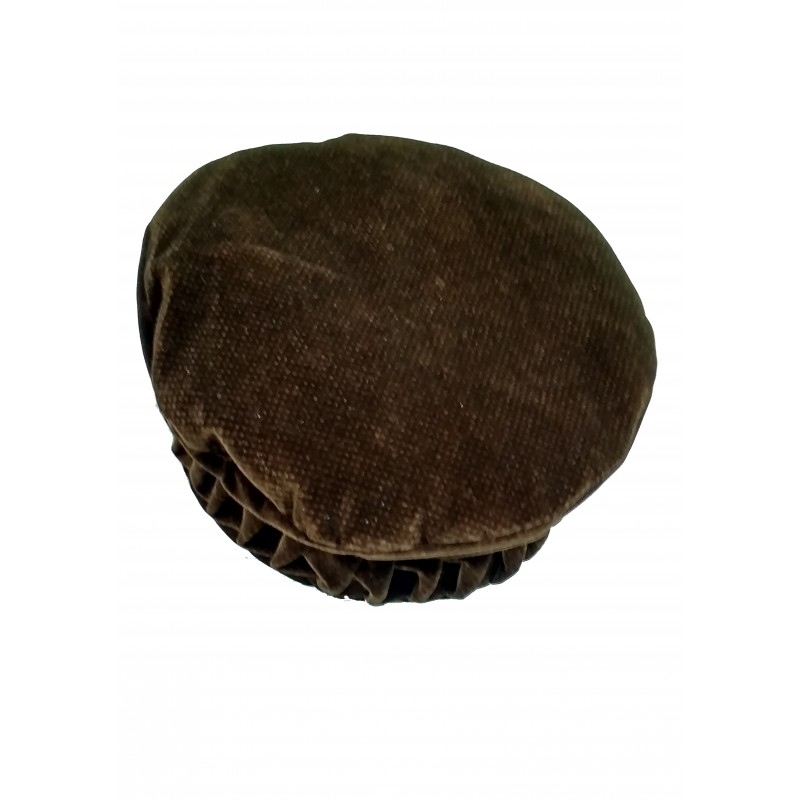 Afghani Pakol Hat online- Designer Afghan Hat Brown colored Pakol 5df0e676d42b