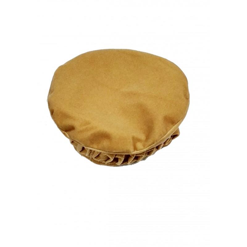 Afghani Pakol Hat online- Designer Afghan Hat Golden colored Pakol 41daac9bf6e3