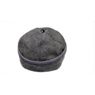 Afghani Round winter Topi- Grey