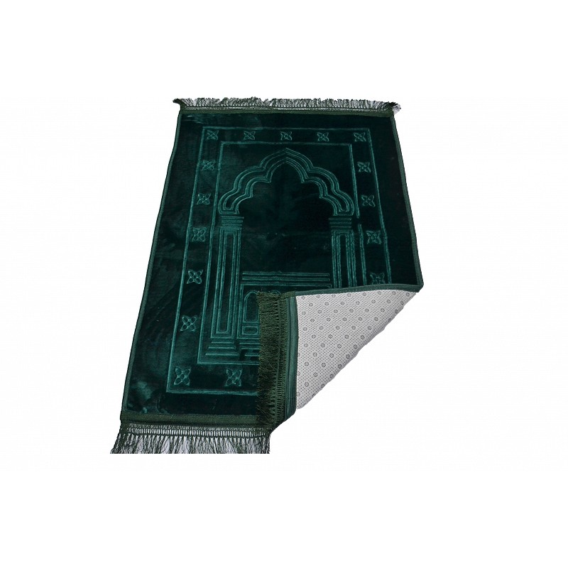 Janamaz Imported Premium Islamic Prayer Mat In Velvet At