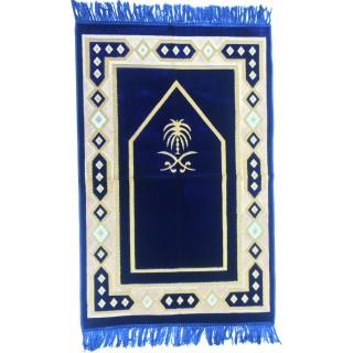 Blue Velvet Janamaz- Prayer Mat
