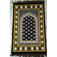 Coffee Velvet Janamaz- Prayer Mat