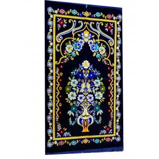 Supreme Turkey Janamaz / prayer mat  - Blue
