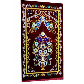 Supreme Turkey Janamaz / prayer mat  - Maroon