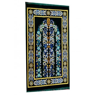 Supreme Turkey Janamaz / prayer mat  - Black