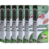 Marjaan Herbal Tooth Powder - 6 Pack
