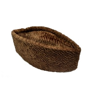 Karakul- Dark Brown color Jinnah cap