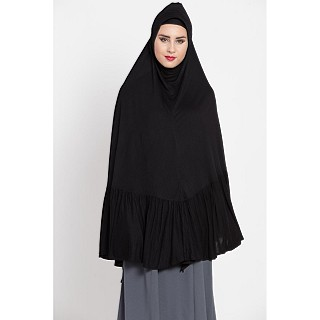 Instant Hijab in Jersey cloth - Black Color