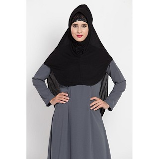 Instant Hijab in Jersey cloth - Black