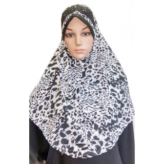 Makhna Hijab in Cat Print