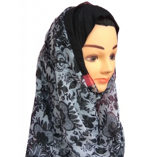 Mariam hijab- printed in chifon fabric