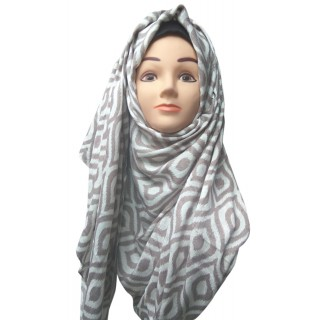 Printed Hijab- Cotton Fabric