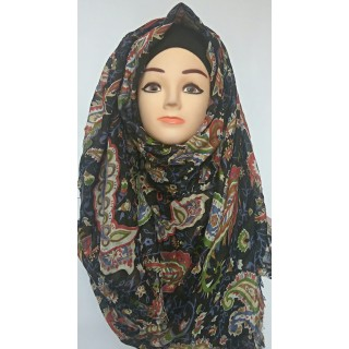 Multi Prints Cotton Hijab