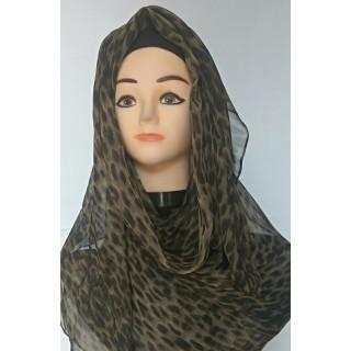 Animal Print Mariam Hijab|Stole