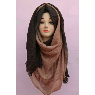 Beautiful Dual Shade Winter Special Party Wear Hijab