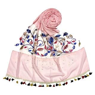 Designer Flower Aari Diamond Collection - Pink