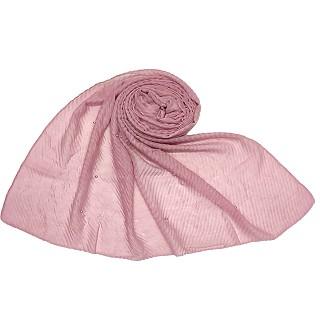 Dew drop stole-Pink