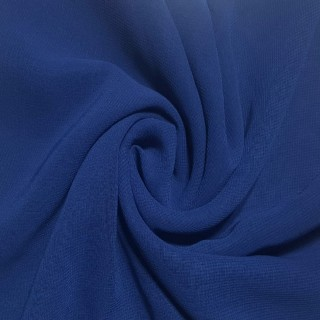 Plain Chiffon Scarf - Royal Blue